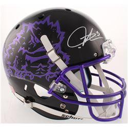 LaDainian Tomlinson Signed TCU Horned Frogs Full-Size Helmet (Radtke COA)