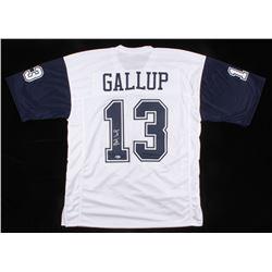 Michael Gallup Signed Jersey (Beckett COA)
