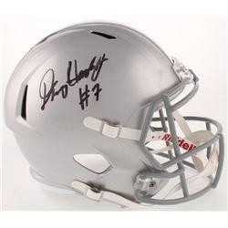 Dwayne Haskins Signed Ohio State Buckeyes Full-Size Speed Helmet (Radtke COA)