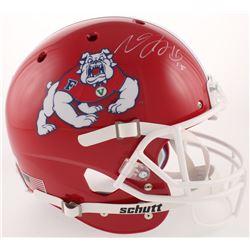 Davante Adams Signed Fresno State Bulldogs Full-Size Helmet (Radtke COA)