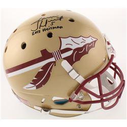 "Jameis Winston Signed Florida State Seminoles Full-Size Helmet Inscribed ""2013 Heisman"" (Radtke COA"