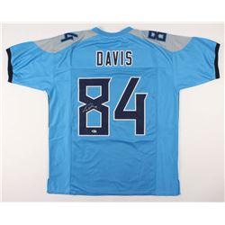 Corey Davis Signed Jersey (Beckett COA)