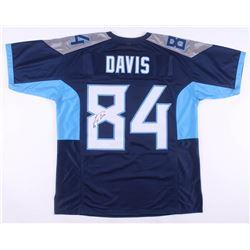 Corey Davis Signed Jersey (JSA COA)