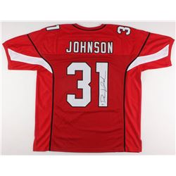 David Johnson Signed Jersey (Beckett COA)