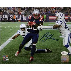 Josh Gordon Signed New England Patriots 8x10 Photo (JSA COA)