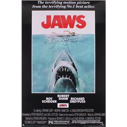 "Richard Dreyfuss Signed ""Jaws"" 24x36 Movie Poster (Dreyfuss Hologram)"