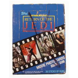 1983 Topps Star Wars Return of the Jedi Series 1 Wax Box with (36) Packs