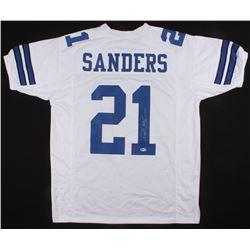 Deion Sanders Signed Jersey (Beckett COA)
