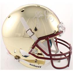 Luke Kuechly Signed Boston College Eagles Full-Size Chrome Helmet (Radtke COA)