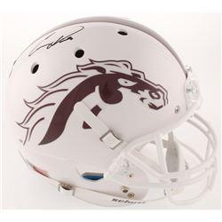 Corey Davis Signed Western Michigan Broncos Full-Size Helmet (Radtke COA)