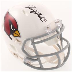 David Johnson Signed Arizona Cardinals Speed Mini-Helmet (Radtke COA)