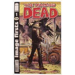"""Jeffrey Dean Morgan Signed """"The Walking Dead"""" #1 Comic Book (Radtke COA)"""