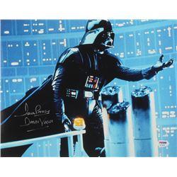 "David Prowse Signed ""Star Wars"" 11x14 Photo Inscribed ""Darth Vader"" (PSA COA)"