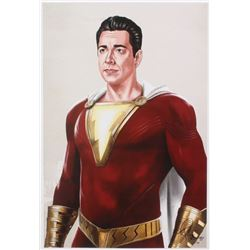 Tony Santiago - The Flash - DC Comics 13x19 Signed Lithograph (PA COA)