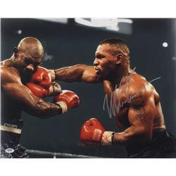Mike Tyson Signed 16x20 Photo (PSA COA)