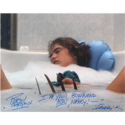 """Robert Englund Signed """"A Nightmare on Elm Street"""" 16x20 Photo Inscribed """"I'm Your Boyfriend Now, Nan"""