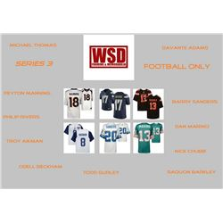 """WSD """"Football Only"""" Mystery Jersey Box - Autographed Football Jersey Series #3"""
