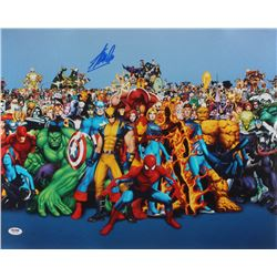 "Stan Lee Signed ""Marvel"" 16x20 Photo (PSA COA)"