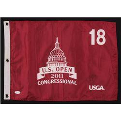 Rory Mcllroy Signed 2011 US Open Golf Pin Flag (JSA COA)