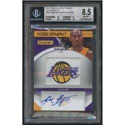 2011 Panini Black Friday Autographs #KB Kobe Bryant Patch (BGS 8.5)