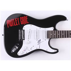 "Vince Neil Signed ""Motley Crue"" 38"" Electric Guitar (PSA COA)"