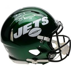 "Sam Darnold Signed New York Jets Full-Size Authentic On-Field Speed Helmet Inscribed ""J-E-T-S"" (Fana"
