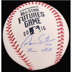 "Dominic Smith Signed 2016 All-Star Futures Game OML Baseball Inscribed ""Team USA"" (JSA COA)"