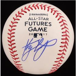 Kyle Tucker Signed 2017 All-Star Futures Game OML Baseball (JSA COA)