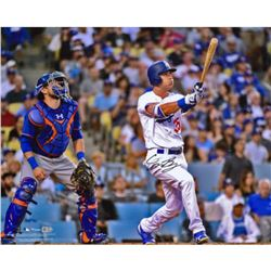 "Cody Bellinger Signed Los Angeles Dodgers ""Home Run"" 16x20 Photo (Fanatics Hologram  MLB Hologram)"