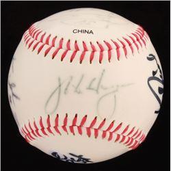 2006 Seattle Mariners OL Baseball Team-Signed by (7) with Ichiro Suzuki, Felix Hernandez, Mike Hargr