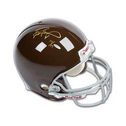 Brett Favre Signed LE Green Bay Packers Full-Size Throwback Helmet (UDA COA)