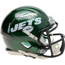 Sam Darnold Signed New York Jets Speed Mini Helmet (Fanatics Hologram)