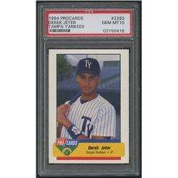 1994 Tampa Yankees Fleer / ProCards #2393 Derek Jeter (PSA 10)