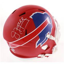 Jim Kelly Signed Buffalo Bills AMP Alternate Full-Size Speed Helmet (Schwartz COA)
