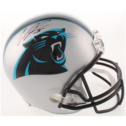 Curtis Samuel Signed Carolina Panthers Full-Size Helmet (JSA COA)