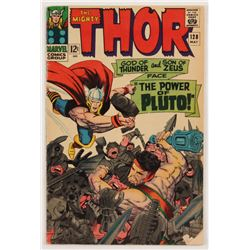 "1966 ""The Mighty Thor"" Issue #128 Marvel Comic Book"