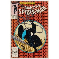 "1988 ""The Amazing Spider-Man"" Issue #300 Marvel Comic Book"