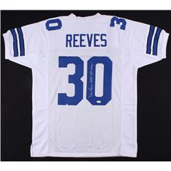 "Dan Reeves Signed Jersey Inscribed ""SB VI  XII Champs!"" (JSA COA)"
