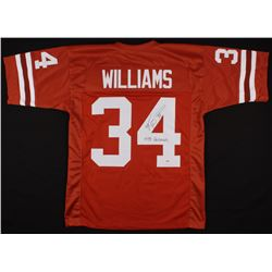 "Ricky Williams Signed Jersey Inscribed ""1998 Heisman"" (PSA Hologram)"