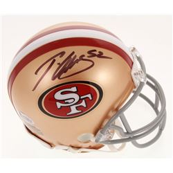 Patrick Willis Signed San Francisco 49ers Mini Helmet (Beckett COA)
