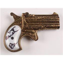 "Val Kilmer Signed ""Tombstone"" Replica Pistol Inscribed ""Doc"" (Beckett COA)"