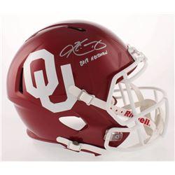 "Kyler Murray Signed Oklahoma Sooners Full-Size Speed Helmet Inscribed ""2018 Heisman"" (Beckett COA)"
