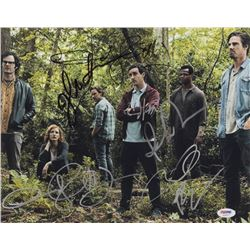 """""""IT Chapter Two"""" 11x14 Photo Cast-Signed By (7) with James McAvoy, Isaiah Mustafa, Andy Muschietti,"""