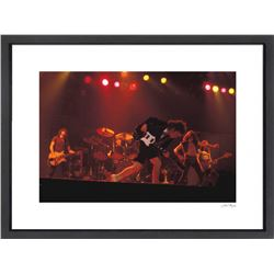 "Malcolm Young ""AC/DC"" 24x30 Custom Framed Globe Hollywood Photo"