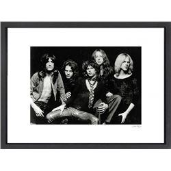 """Aerosmith"" 24x30 Custom Framed Globe Hollywood Photo"