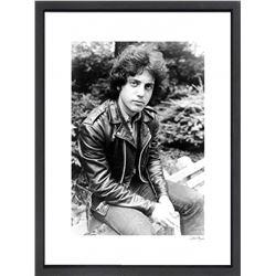 """Billy Joel"" 16x20 Custom Framed Globe Hollywood Photo"