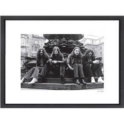 """Black Sabbath"" 24x30 Custom Framed Globe Hollywood Photo"