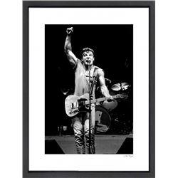 """Bruce Springsteen"" 16x20 Custom Framed Globe Hollywood Photo"
