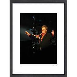 """Elton John"" 24x30 Custom Framed Globe Hollywood Photo"