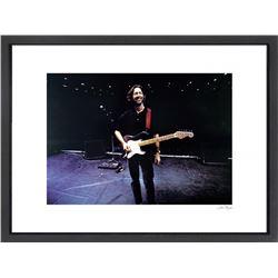 """""""Eric Clapton"""" 24x30 Custom Framed Globe Hollywood Photo"""